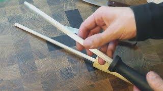 видео Как использовать мусат для заточки ножа?  -  Все для дома  -  Каталог статей и интернет-ресурсов -  Статьи о многом