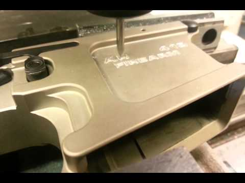 NFA Engraving for SBR - YouTube