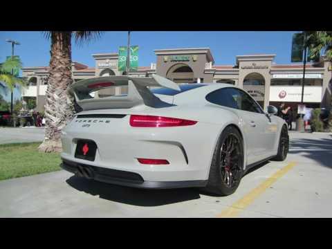 Porsche 911 GT3 w/ GMG Racing Exhaust (startup, hard acceleration)