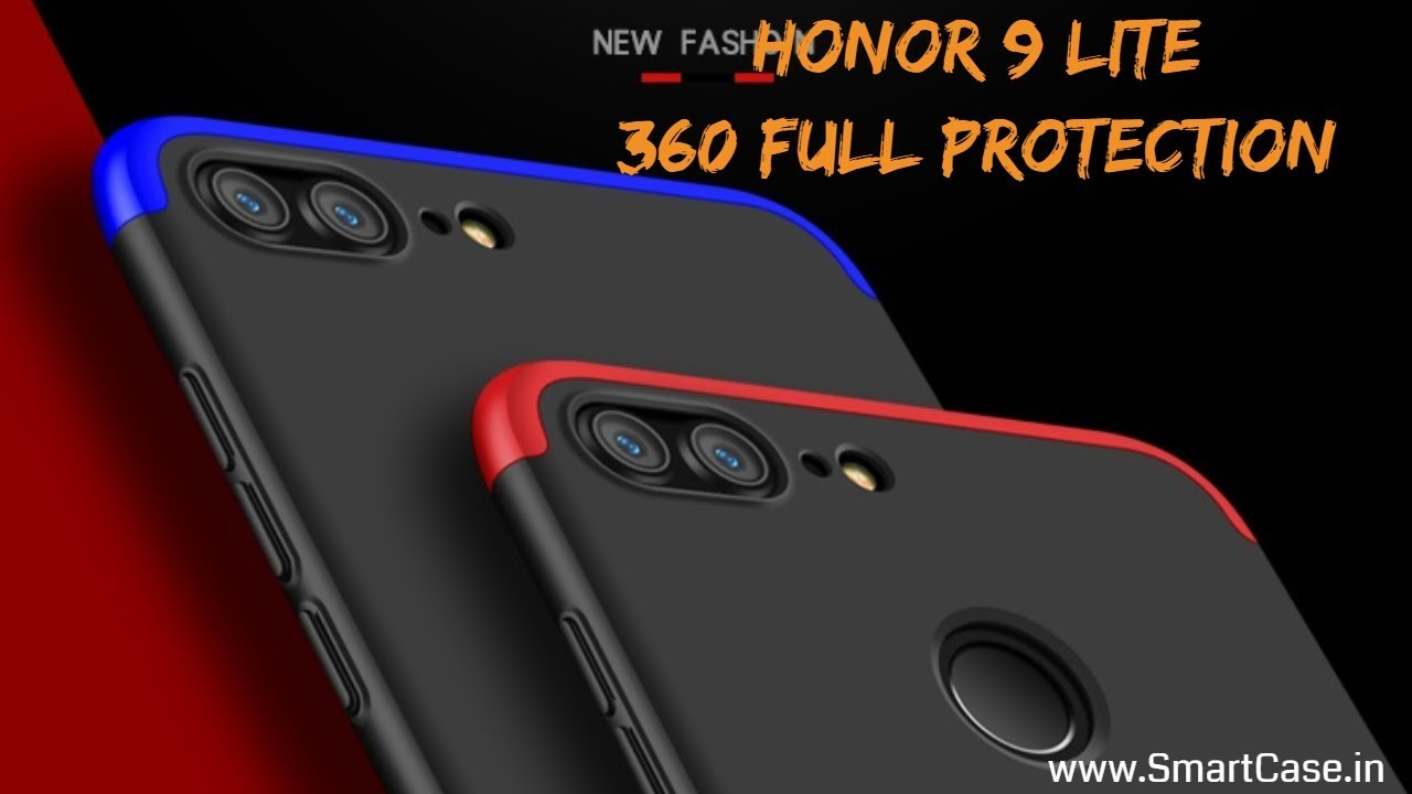 buy online e39cd a3967 Honor 9 Lite 360 Full Protection Back Case Cover | www.SmartCase.in