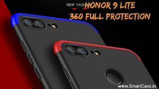 Honor 9 Lite 360 Full Protection Back Case Cover   www.SmartCase.in