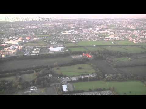 Landing at Dublin Airport, Ireland - 18th September, 2012