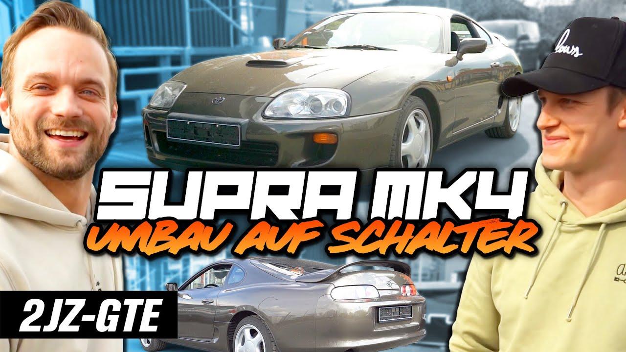 Toyota Supra MK4 Umbau auf 6-Gang Schalter, ist sie am Ende schneller?   Philipp Kaess  