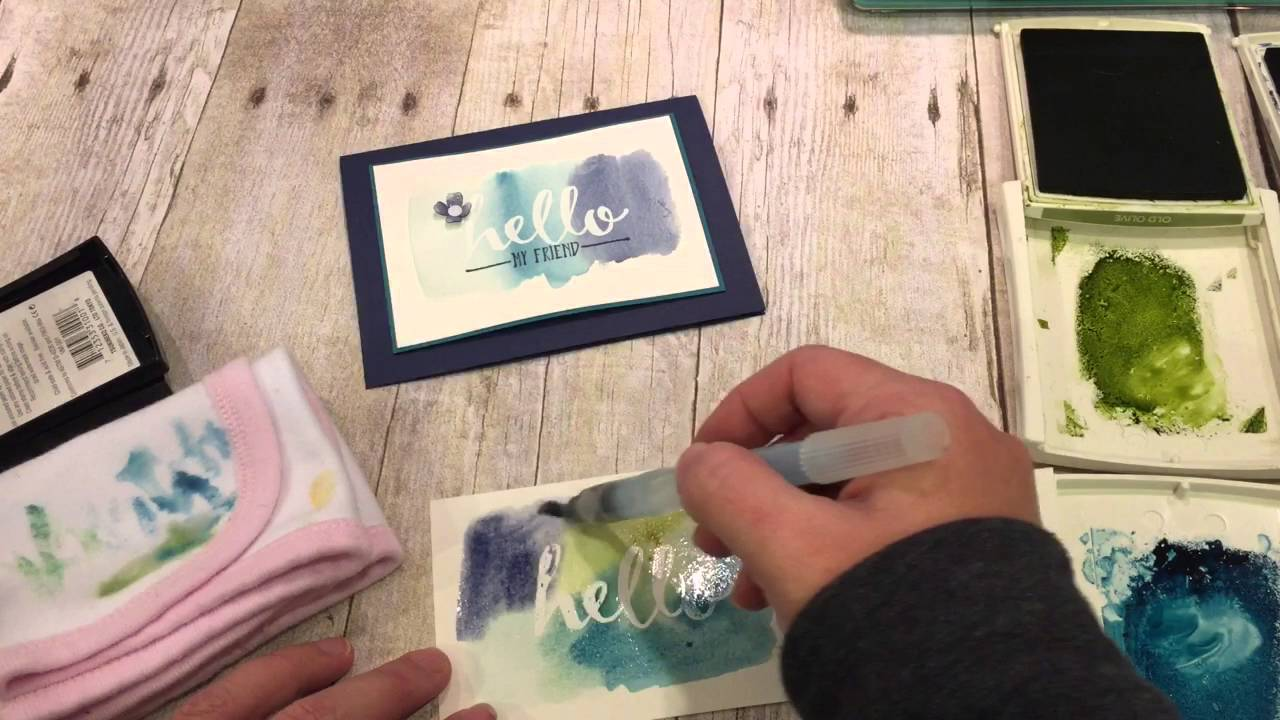 Friday Quickie Techniques and Tips: Wet Wash Watercolor Background - YouTube