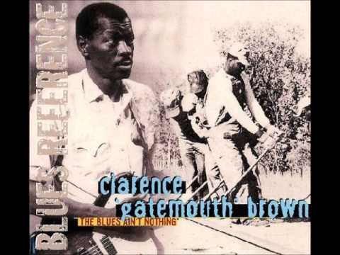 Clarence 'Gatemouth' Brown - Deep deep water