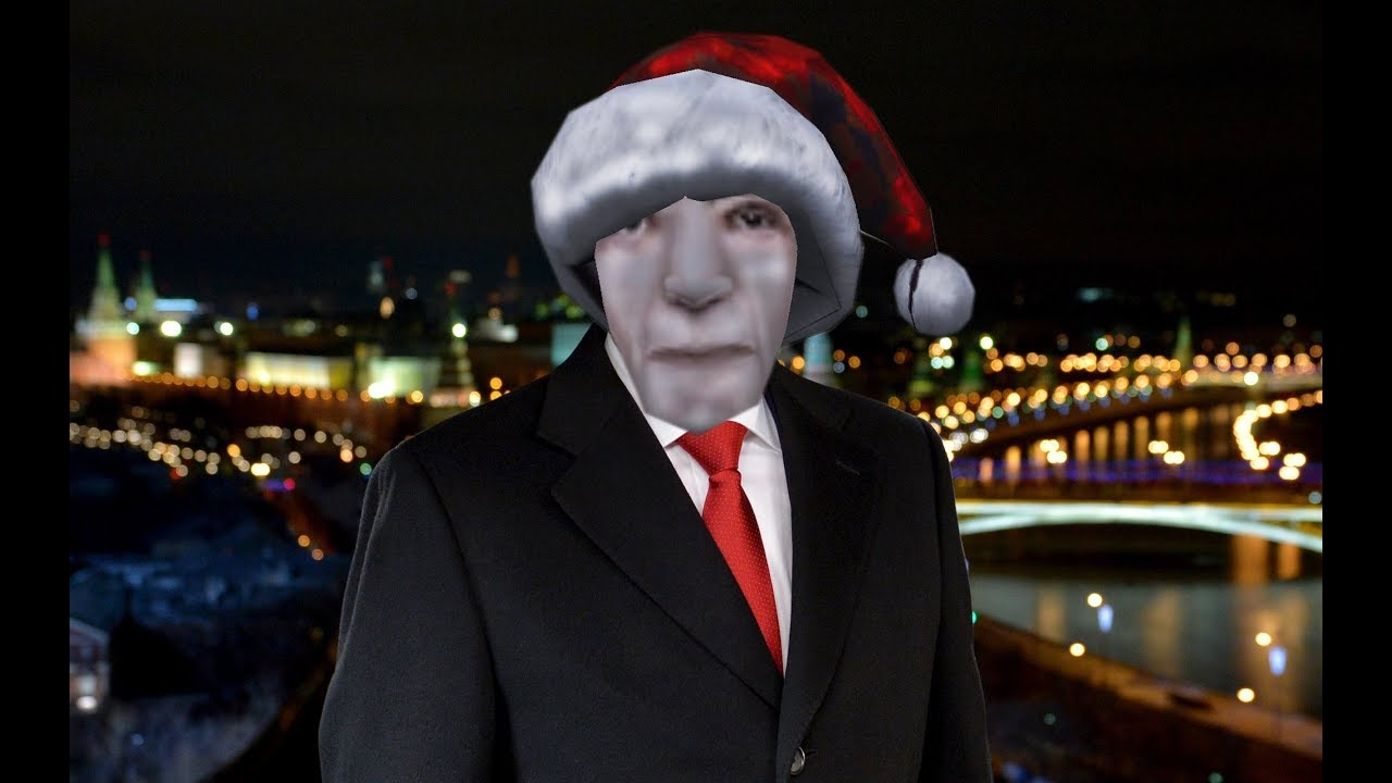 Новогоднее поздравление президента РФ Владимира Путина ...