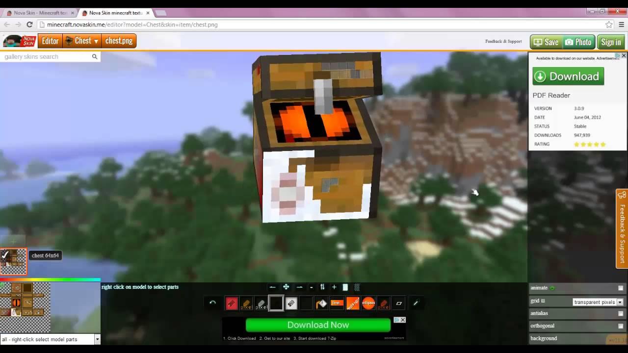 Novaskin Texture Pack Editor - YouTube