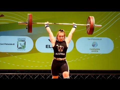 Victoria Steiner - Girls 69kg - 2018 European U15 Weightlifting Championships