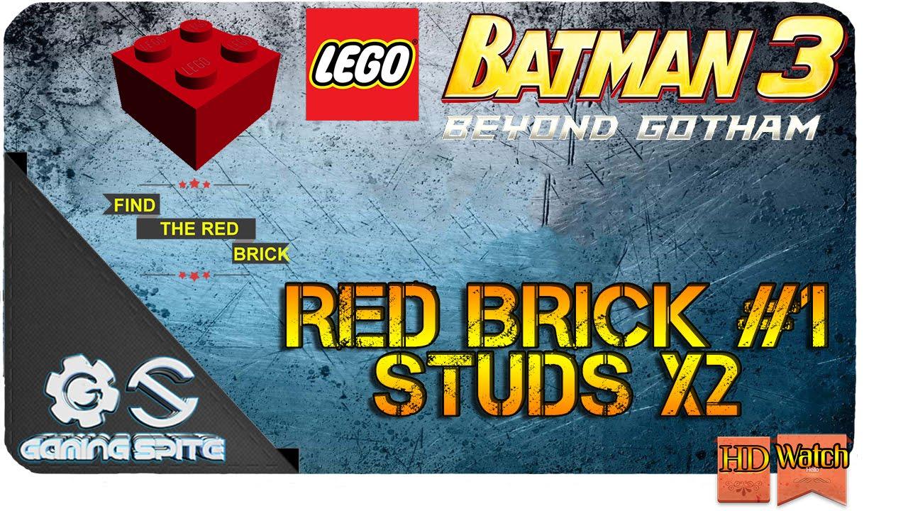 Lego Batman 3: Beyond Gotham - How to Get Red Brick #1 ...