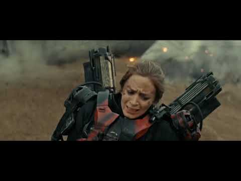 Edge Of Tomorrow (2014) - Day One (First Battle Scene) - Part 2 [1080p]