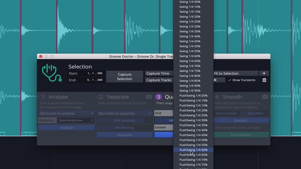 Tracktion Waveform 10 Groove Doctor Tutorial Part1