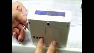 Светодиодные часы с с доской для записей LED clock with Message Board