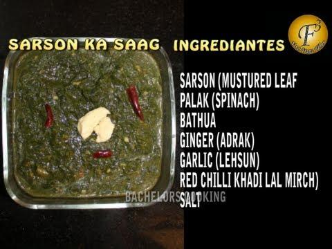 Punjabi sarson ka saag ii ii by punjabi sarson ka saag ii ii by f3 bachelors cooking ii youtube forumfinder Gallery