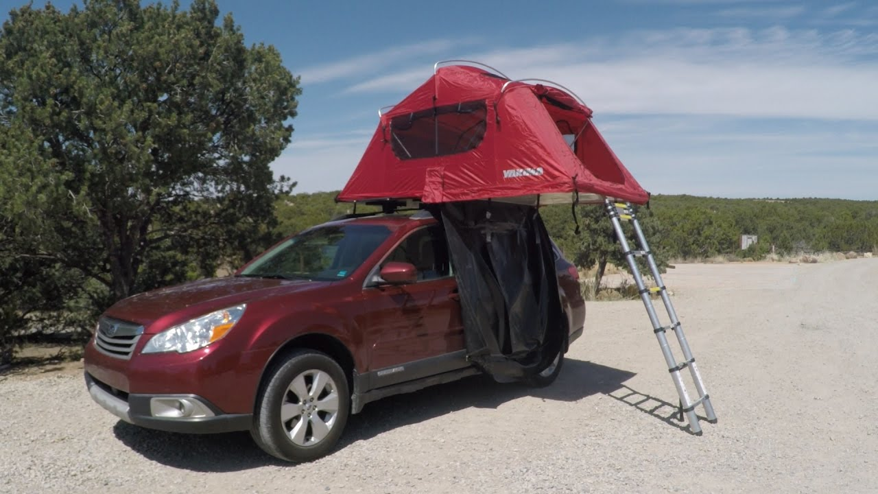 First Impressions Yakima SkyRise 3 Rooftop Tent & First Impressions: Yakima SkyRise 3 Rooftop Tent - YouTube