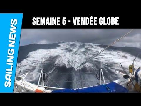 Résumé de la 5ème semaine de course - Vendée Globe 2016