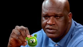 Shaq Wings HOT ONES  Shaq Meme - The Gummy Bear Song