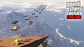 QUE GRACIOSILLOS LOS SUSCRIPTORES!! - Gameplay GTA 5 Online Funny Moments (Carrera GTA V PS4)