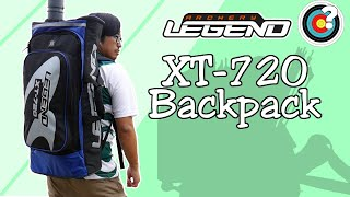 LEGEND BACKPACK XT 720 vidéo
