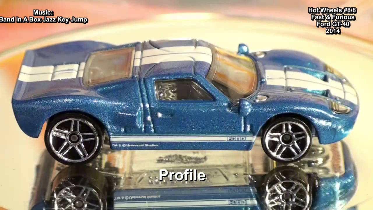 Hot Wheels Fast Furious Ford Gt  U Toys