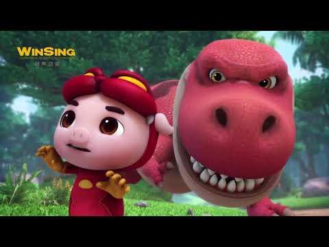 GG Bond: Dinosaur Diary - EP01 猪猪侠番外:恐龙日记 《恐龙时代的霸王》