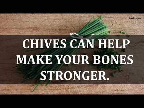 AMAZING HEALTH BENEFITS OF CHIVES