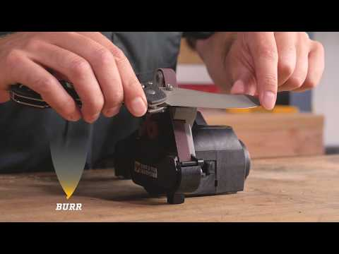 Tips and Tricks for the Work Sharp Original Knife and Tool Sharpener