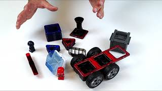 Toy unboxing: Magformers Amazing Police And Rescue Magnetic Construction Set