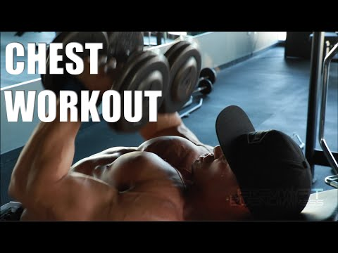 Smashing Chest with the Champ Jeremy Buendia
