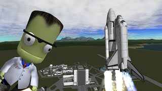 Mk3 Shuttle Pt 1 - Building the Kerbal Shuttle