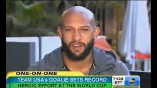 Team USA Loses Tim Howard Goalie 16 Saves Heartbreak For Team USA Interview