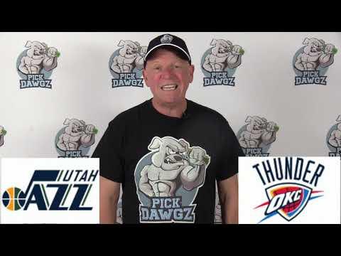 Oklahoma City Thunder vs Utah Jazz 3/11/20 Free NBA Pick and Prediction NBA Betting Tips