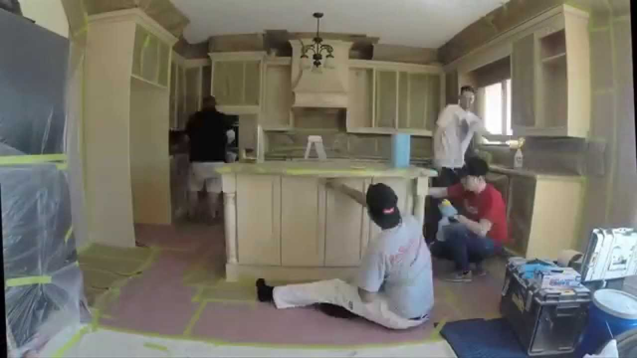 kitchen cabinet refinishing toronto paint core youtube