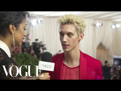 Troye Sivan on Unironically Loving Vegemite  Met Gala 2018 With Liza Koshy  Vogue