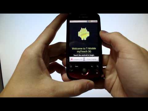 HTC Magic Enter code, Ввод кода разблокировки HTC