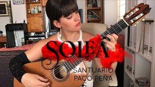 Soleá Santuario de Paco Peña | Flamenco | Paola Hermosín