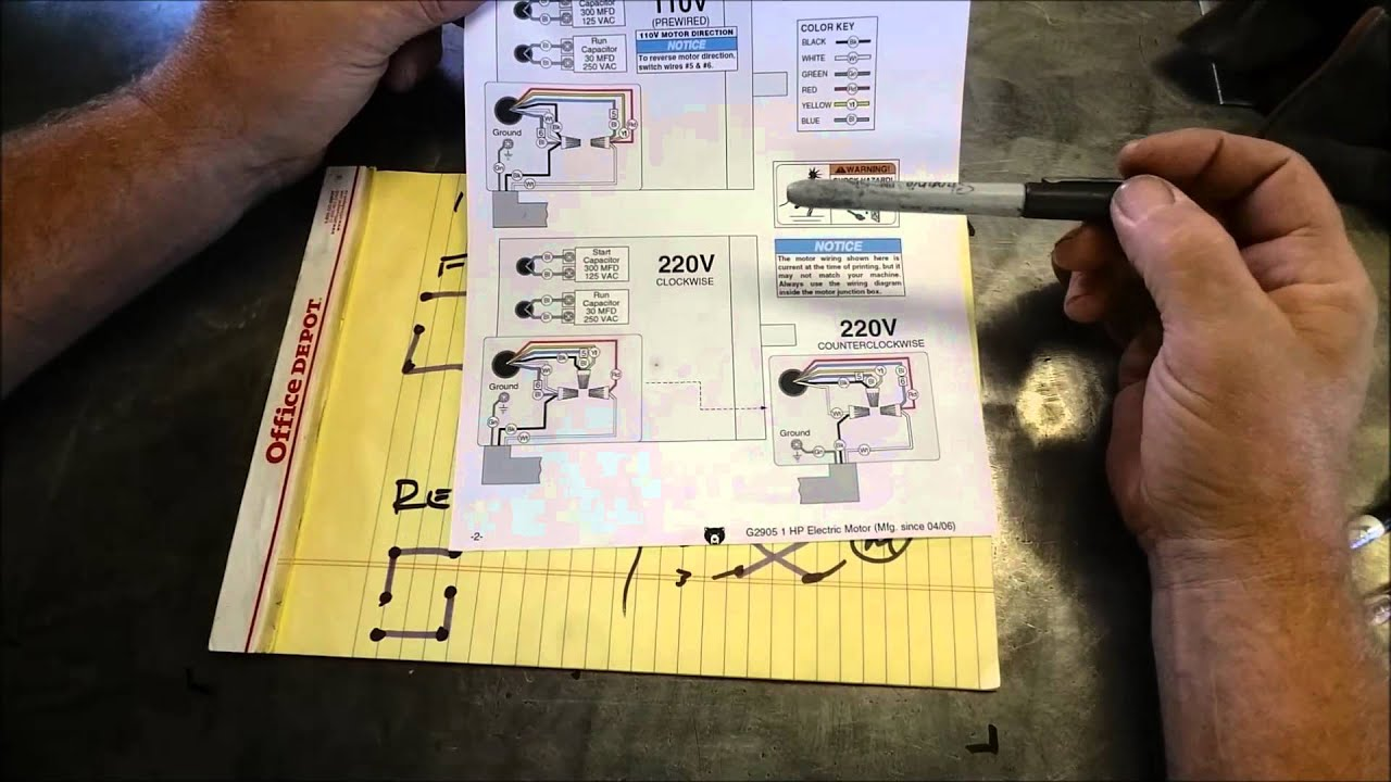drum switch single phase motor wiring diagram 4 channel relay module types youtube