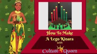 How To Make A Lego Kwanzaa Kinara w/Culture Queen