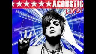 Adam Lambert - Whataya Want From Me (Acoustic)