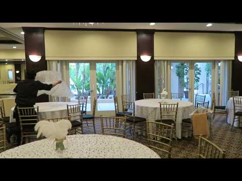 The Long Beach Grand Garden Room walk thru before event