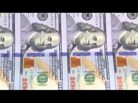 TOUR of the US Fiat Currency PRINTING PRESS   New $100 USD Bill Being Printed & Packed