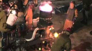 Tree's Iron Pour Summer 2010.flv