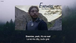 [Lyrics + Vietsub] Post Malone - Enemies ft. DaBaby