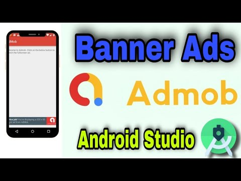 Download How to implement banner Ads in Android App with JAVA   Admob Banner Ads Implementation