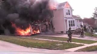 Ulster Rd. House Fire 4/11/11 (PGFD)