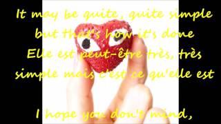 Billy Paul - Your Song 1972  Lyrics Paroles