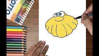Dạy bé tập vẽ con sò