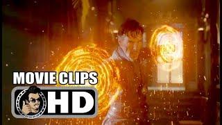 DOCTOR STRANGE - 3 Movie Clips + Trailer (2016) Benedict Cumberbatch Marvel Superhero Movie HD