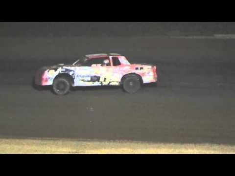 Ark La Tex Speedway Factory Stock A feature part 2 Fan night 4/23/16