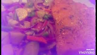 Oven Baked Restaurant Style Salmon