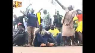 MP Irungu Kang'ata Leads Protests In Kiharu Over Insecurity In The Area